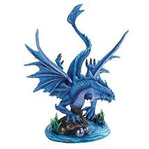 Pacific Giftware Anne Stokes Age of Dragons Water Winged Dragon Home Decorative  - $62.58