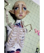 """Ribcage Embroidery Template"" PDF Digital Doll Costume Acessory Pattern  - $10.00"