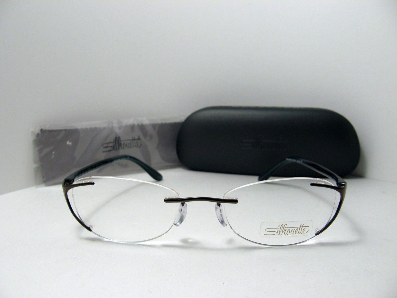 Custom Made Eyeglass Frames New York : New Authentic Silhouette Titanium Rimless Eyeglasses 6659 ...