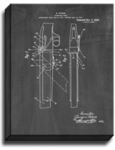 Sporting Gun Patent Print Chalkboard on Canvas - $39.95+