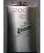 Halloween Gothic Stainless Steel Poison Flask Goth Gothic - $9.99