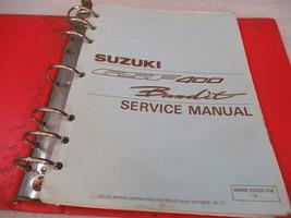 Suzuki GSF400 Bandit Service Manual Binder P/N 99500-33022-03E - $32.47