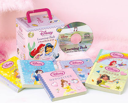 Princess 6-Book Learning & CD Carry Case Set