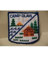 Camp Olave BC Girl Guides Souvenir Badge Patch Crest - $3.99