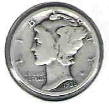 Nice 1935S Mercury Dime - $4.00