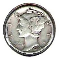Nice 1940 D Mercury Dime - $4.00