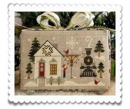 MAIN STREET STATION release #2 Hometown Holidays cross stitch chart Little House - $5.40