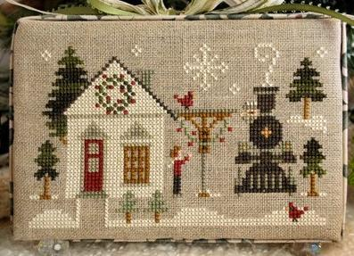 MAIN STREET STATION release #2 Hometown Holidays cross stitch chart Little House
