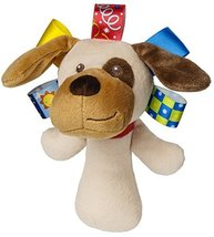 """Mary Meyers New Arrivials Taggies Baby Toys Assortmnet (Buddy Dog Rattle - 6"""") - $14.94"""