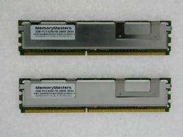 4gb 2X2GB Kit hp Hewlett Packard Compaq PC2-5300 DDR2 ECC Fb Dimm Mémoir... - $29.70