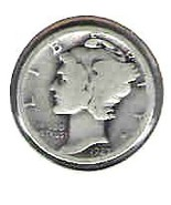 Nice 1927 S Mercury Dime - $4.00