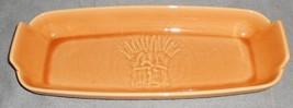 Franciscan LIGHT GOLD WHEAT PATTERN Bread Tray MADE IN CALIFORNIA - $31.67