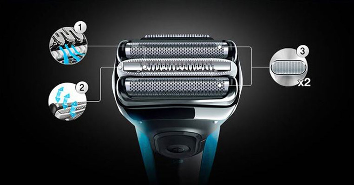 BRAUN BRAUN 3030S Series 3 Electric Shaver / Rechargeable Battery / Water-Proof