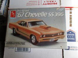 AMT 1967 Chevelle SS396 Pro Street 1/25 scale - $36.99
