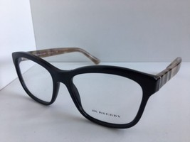 New BURBERRY B 2722 3600 54mm Black Cats Eye Rx Women's Eyeglasses Frame #3 - $129.99