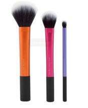 Duo-Fiber Collection 3 Brush Set Makeup Brushes Tools Cosmetics Eye Cont... - $31.25