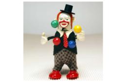 Schuco Clown Jongleur 965  Tin plate :MADE IN U.S.ZONE GERMANY Vintage A34 - $1,035.99
