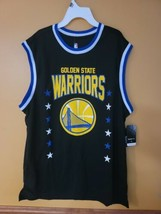 Men's Size XL Black NBA Golden Warriors Sleeveless Jersey (P) - $24.24