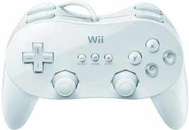 Wii Classic Controller Pro - White [video game] - $88.99