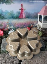 WILLIAMS-SONOMA NORDIC WARE CONVERSATION HEART CAKE PAN -NWT- LOVE IS AL... - $39.95