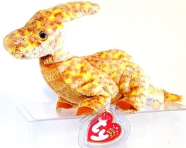 TY BEANIE BABIES 2002 SN 4559 –  TOOTER THE DINOSAUR – RETIRED – MWMT - $9.90