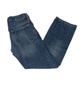Gap Kids Boy's Blue Denim Adjustable Waist Slim Straight Fit Jeans-Size: 8 - $14.80