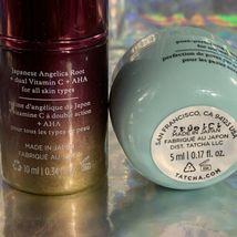 Tatcha 10mL Violet C Brightening Serum & Water Cream 10mL image 4