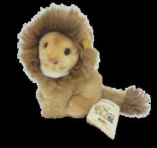 "7"" STEIFF SNUFFI THE TAN LION # 077180 STUFFED ANIMAL PLUSH TOY W/ TAGS ... - $83.22"
