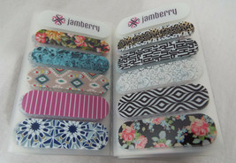 Jamberry Packet of 50 Accent Sheets 10 Different Designs - $16.72