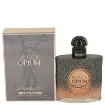 Black Opium Floral Shock by Yves Saint Laurent Eau De Parfum Spray 1.7 o... - $107.94