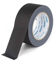 Atemto Gaffer Tape Black 2 inch × 30 Yards Heavy Duty Non Reflective Adh... - $15.23