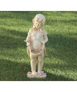 Girl Statue with Apron Bird Feeder - $31.50