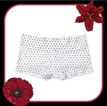 M   XL Black White Dot FLORAL LACE THE LACIE Victorias Secret SHORTIE RA... - $12.50