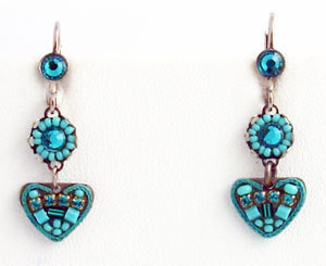 Primary image for Signed ADAYA Maya Micro Mosaic Earrings