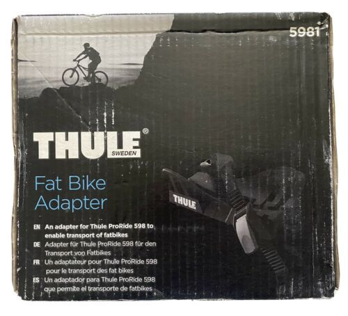 """Thule Fat Bike Adapter Cradle 5981 for ProRide Bike Rack 3-5"""" Roof Carrier NEW"""