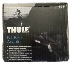 """Thule Fat Bike Adapter Cradle 5981 for ProRide Bike Rack 3-5"""" Roof Carrier NEW image 1"""