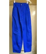 Levi Royal Blue vintage High Rise Pants 23X30  - $10.00