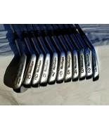 "MacGregor Tourney Custom ""the 985"" Iron Set 1-10 +SW 2-10 Matching Serial #s GUC - $284.95"