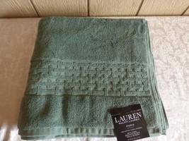"""$34.00 Lauren Ralph Lauren Pierce Bath Towel 30"""" x 56"""", Water Green - $10.15"""
