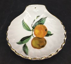 """Royal Worcester """"Evesham"""" Shell Shaped Spoon Rest/ Small Dish Shape #52 ... - $15.00"""