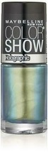 Maybelline New York Color Show Nail Lacquer #25 Mystic Green .23 Fl Oz - $6.52