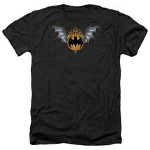Batman - Bat Wings Logo Adult Heather Officially Licensed T-Shirt Short Sleeve S - $20.99+