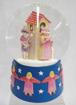 "Dept 56 Musical Snow Globe Minstrels Angels ""Te... - $44.54"