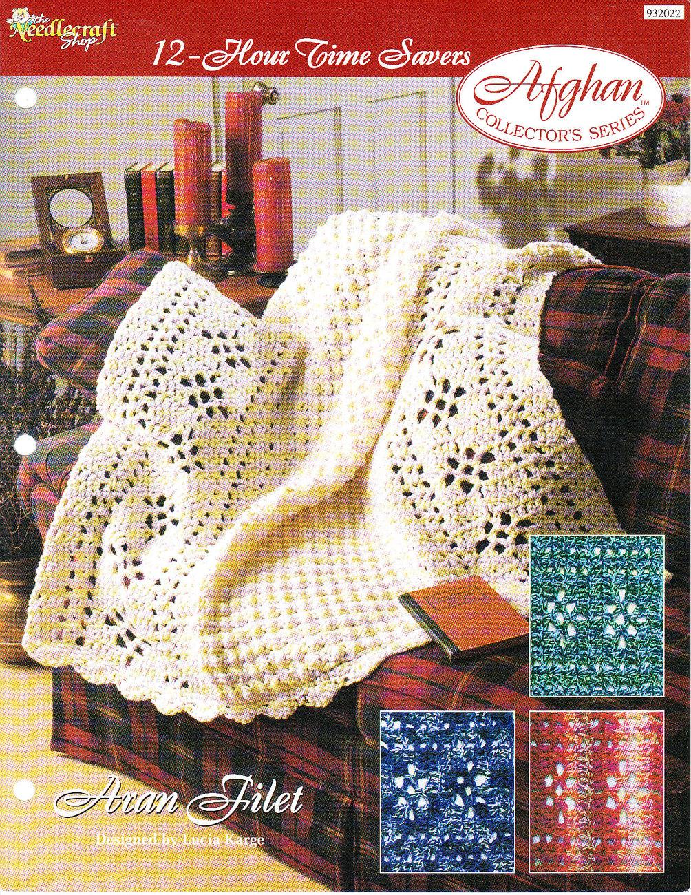 Angel Crib Knitting Pattern : *Crochet Afghan Collectors Series Pattern Aran Filet - Crocheting & ...