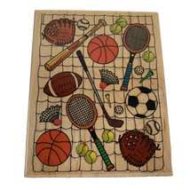 Rubber Stamp Sports Equipment Embossing Arts Company No 1062-JJ - $14.99