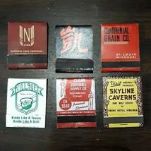 Vintage 6 Destination Advertising Matchbooks - Skyline Caverns, United C... - $19.95