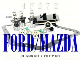 4F27E SOLENOID KIT DELUXE W/FILTER KIT 99-11 MAZDA 5 MAZDA 6 A&B SOLENOI... - $179.00