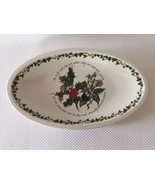 """Portmeirion Holly and Ivy 15"""" Low Sovereign Oval Server - $65.00"""