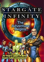 Stargate Infinity - The Adventure Begins (2007 DVD) BRAND NEW / FACTORY ... - $6.99