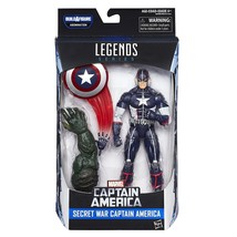 Marvel 6-In Legends Series Secret War Captain America - $24.49